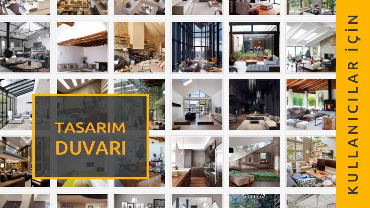 Tasarım-Duvarı-Kullanıcı