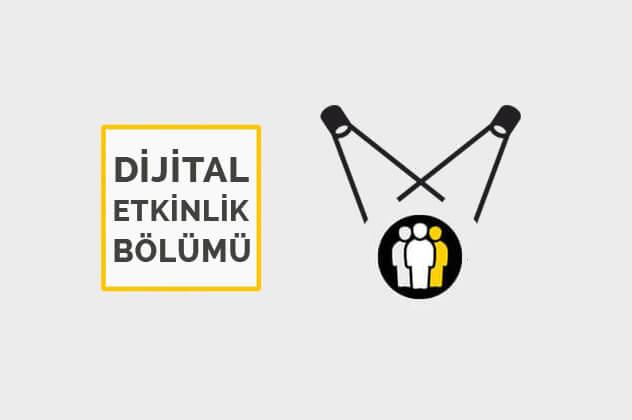dijital etkinlikler